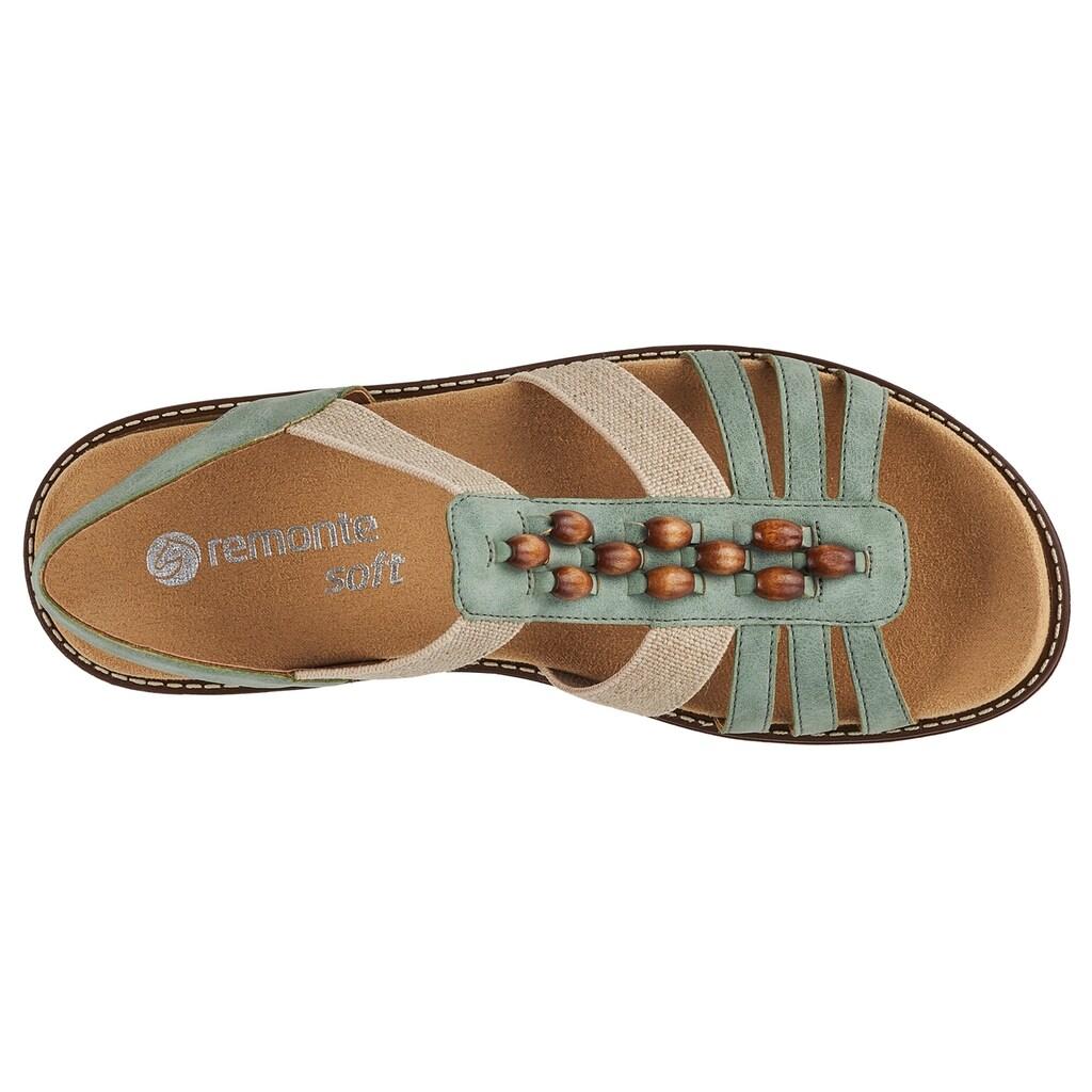 Remonte Sandale, mit elastischen Riemchen