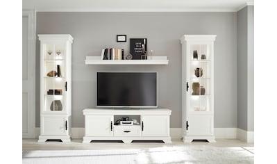 Home affaire Wohnzimmer - Set »Royal« (4 - tlg bestehend aus 2 Vitrinen, 1 Lowboard und 1 Wandboard) kaufen