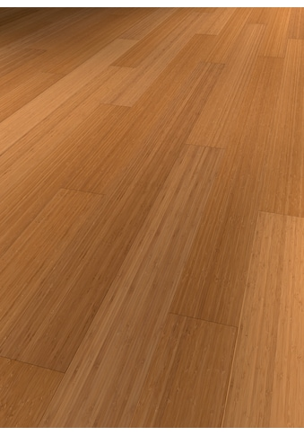 TER HÜRNE Parkett »Bambus karamellbeige«, mit fühlbarer Oberfläche und Klicksystem kaufen