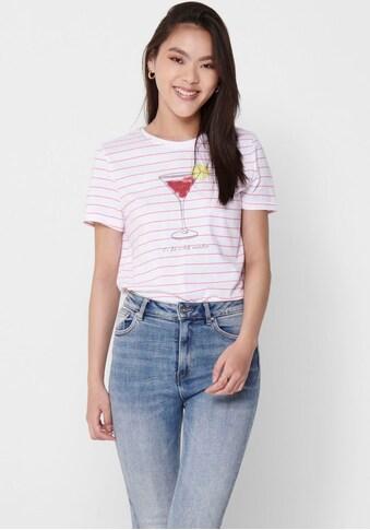 Only T - Shirt »ONLKITA LIFE« kaufen