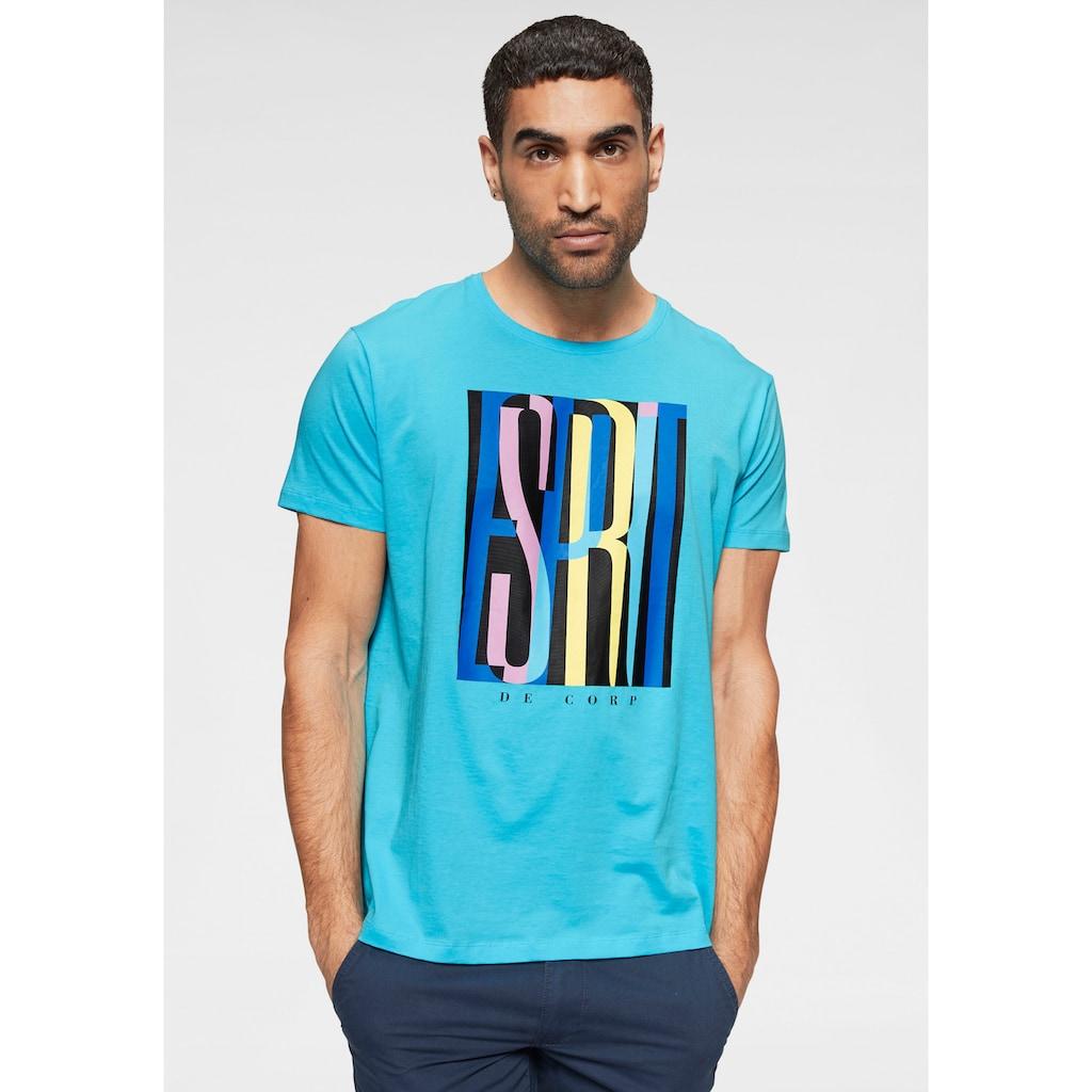 edc by Esprit T-Shirt, mit Logoprint