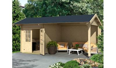 Outdoor Life Products Gartenhaus »Kenzo«, mit Anbau kaufen