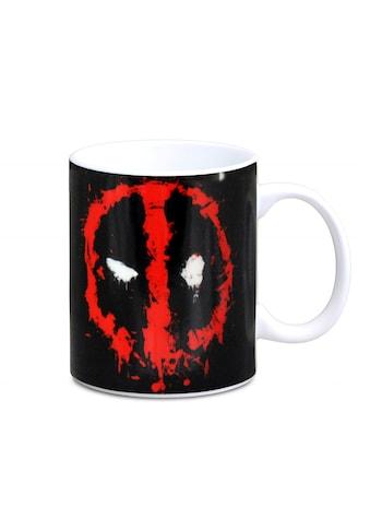 LOGOSHIRT Kaffeebecher mit coolem Print »Deadpool« kaufen