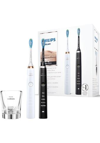 Philips Sonicare Schallzahnbürste HX9392/40 DiamondClean, Aufsteckbürsten: 2 Stk. kaufen