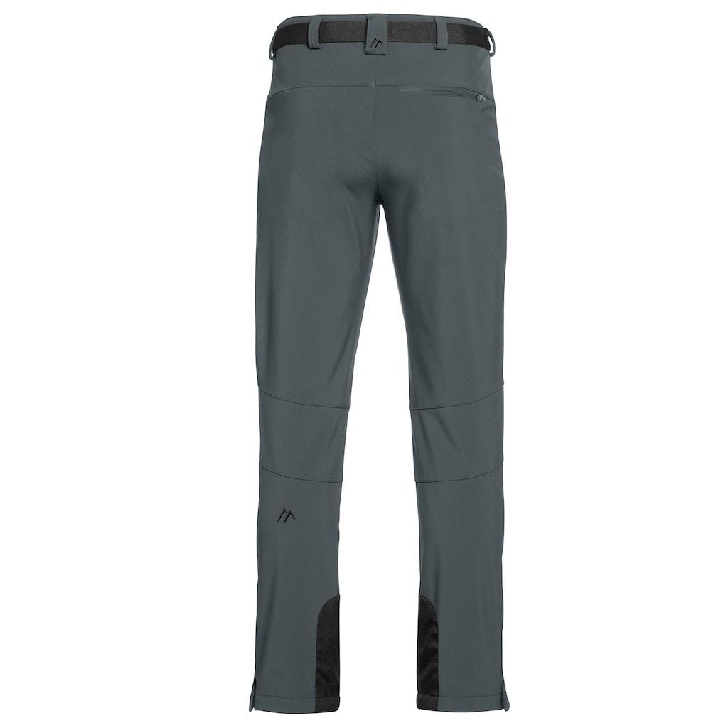 Maier Sports Funktionshose »Tech Pants M«, Warme Softshellhose, winddicht, elastisch