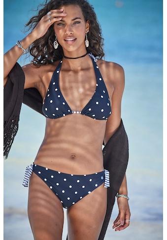 s.Oliver Triangel-Bikini-Top »Audrey«, Im Punkte und Streifen Mix kaufen