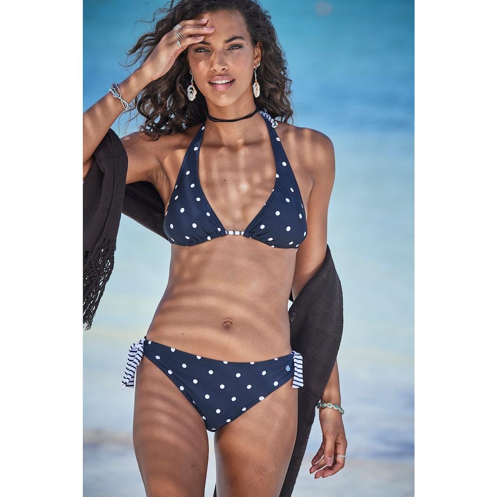 s.Oliver Triangel-Bikini-Top »Audrey«, Im Punkte und Streifen Mix