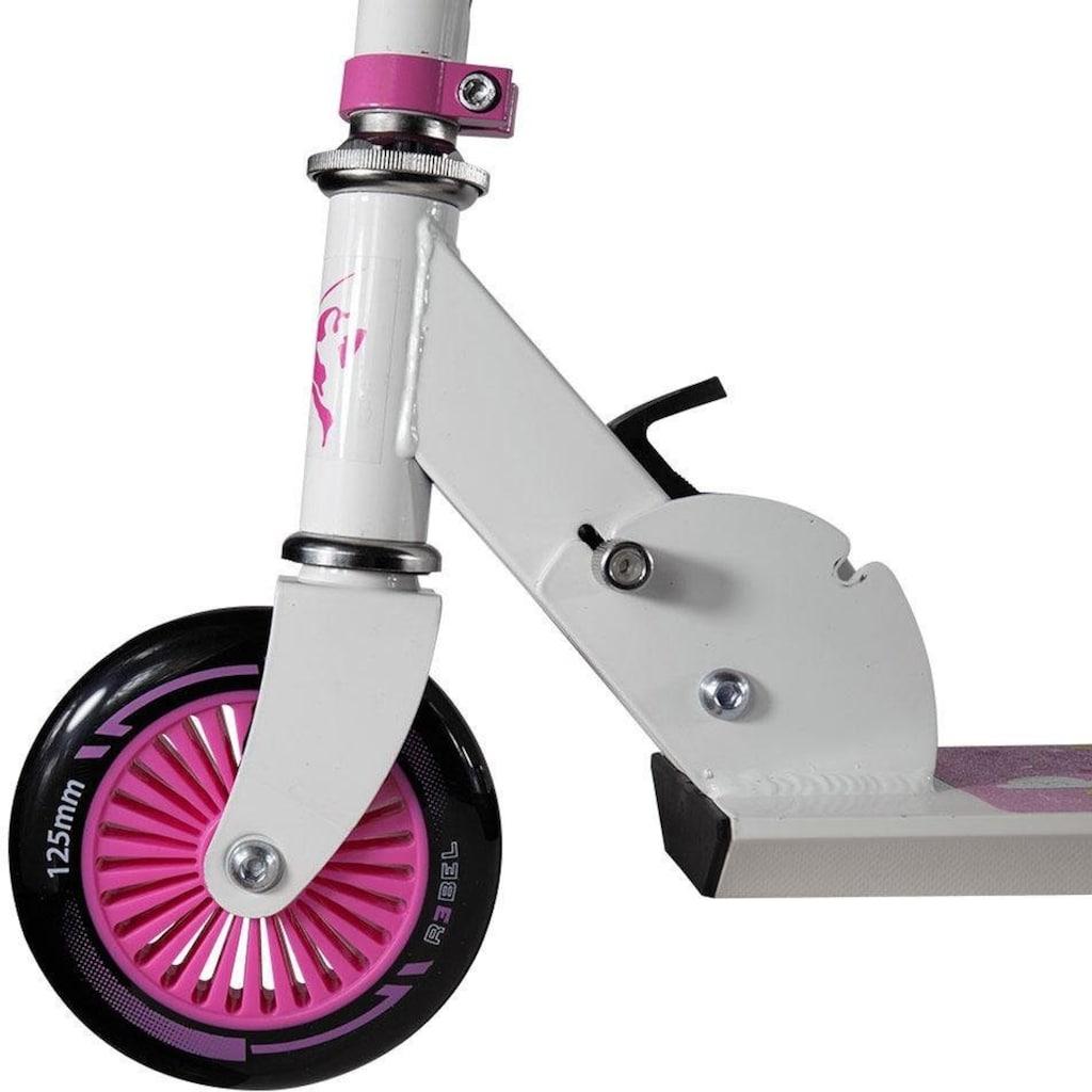 REBEL Scooter »Einhorn-Unicorn«