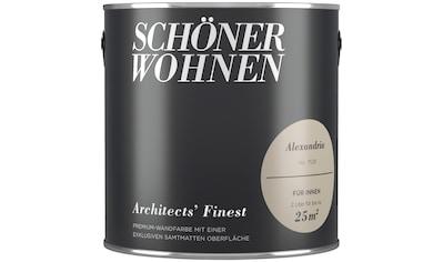 SCHÖNER WOHNEN-Kollektion Wand- und Deckenfarbe »Architects' Finest - Alexandria« kaufen