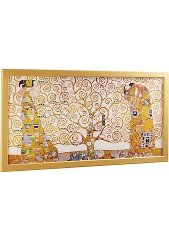 Home affaire Wandbild »KLIMT - Der Lebensbaum« kaufen