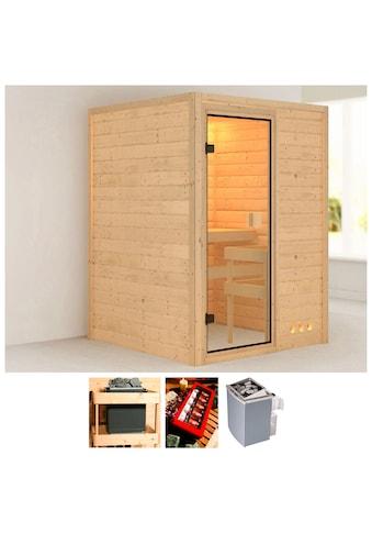 KONIFERA Sauna »Magni«, 144x144x198 cm, 9 kW Ofen mit int. Steuerung kaufen