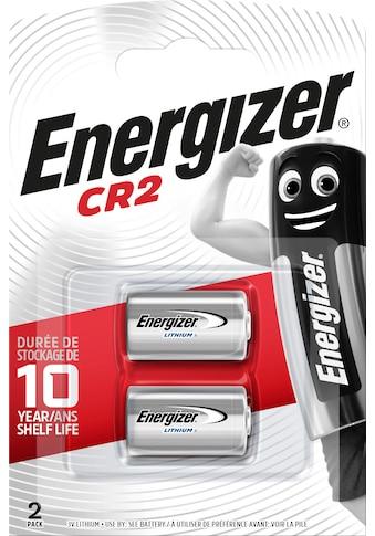 Energizer Batterie »Lithium Foto CR2 2 Stück«, 3 V kaufen