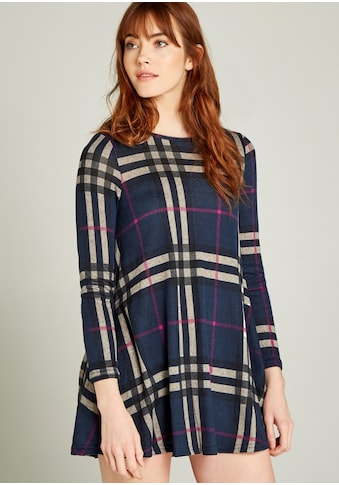 Apricot Strickkleid »Blanket Check Swing Dress« kaufen