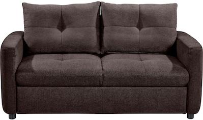 set one by Musterring Sofa »SO 4200«, 2 Sitzer, wahlweise mit Bettfunktion, Federkern... kaufen