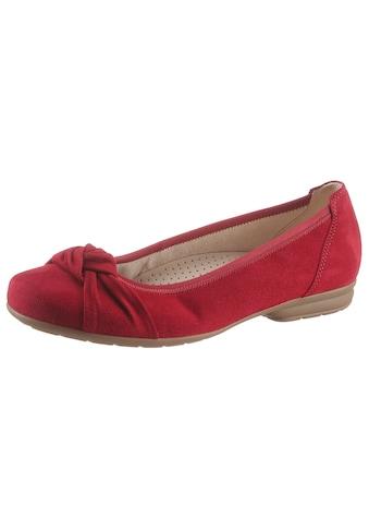 Gabor Ballerina, in Schuhweite G (=weit) kaufen
