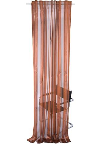 Vorhang, »JULIE«, Linne, verdeckte Schlaufen 1 Stück kaufen