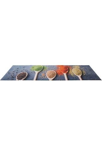 Andiamo Küchenläufer »Gewürze«, rechteckig, 3 mm Höhe, Läufermatte aus Vinyl,... kaufen