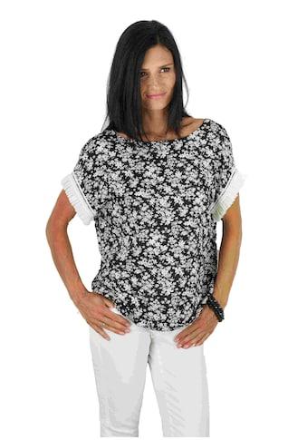 Seidel Moden Blusenshirt, mit spannenden Details Made in Germany kaufen