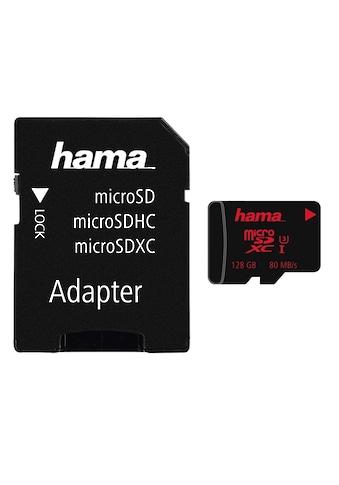 Hama microSDXC128 GB UHS Speed Class 3 UHS-I80 MB/s #+ Adapter kaufen