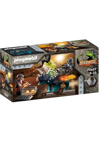 Playmobil® Konstruktions-Spielset »Triceratops - Verteidigung am Boden (70627), Dino... kaufen