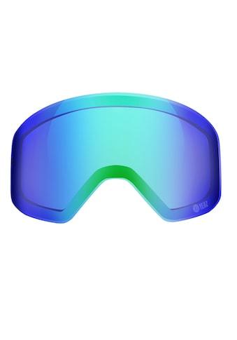 YEAZ Skibrille »APEX«, Magnetisches Wechselglas grün verspiegelt kaufen