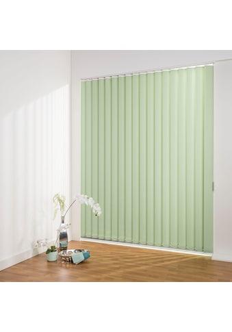 Lamellenvorhang, »Lamellenvorhang Vertikalanlage perlex  -  89 mm Lamelle«, Liedeco, freihängend kaufen