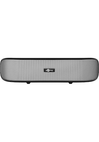 Goobay Stereo Lautsprecher für PC, Notebook, TV und Smartphone »SoundBar« kaufen
