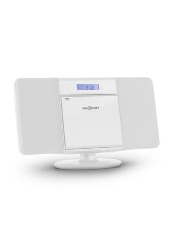 ONECONCEPT Stereoanlage CD Player MP3 USB Radio Wecker Kompakt Anlage »V13« kaufen
