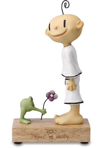 "Goebel Dekofigur »Figur Der kleine Yogi - ""You make me happy""« kaufen"