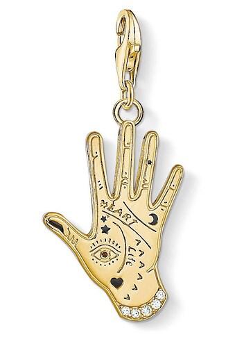 """THOMAS SABO Charm - Einhänger »Charm - Anhänger """"Vintage Hand gold"""", 1717 - 565 - 7« kaufen"""