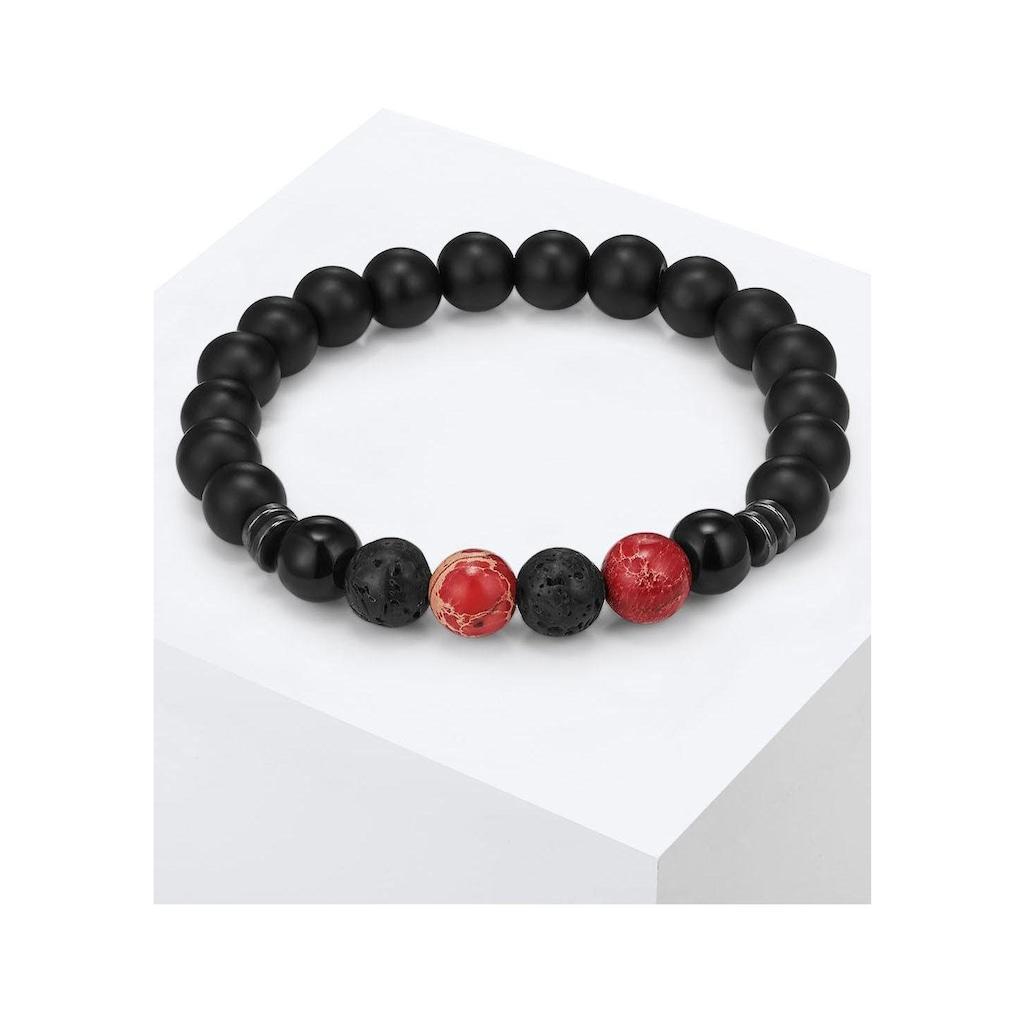 Gemdor Armband »Engeriearmband, 50160007«, mit Onyx, Jaspis, Lavastein und Hämatit