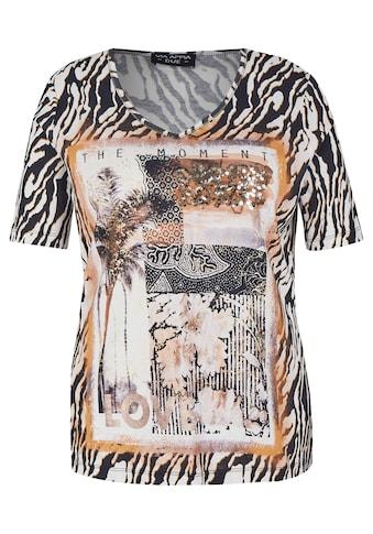 VIA APPIA DUE T-Shirt, mit Glitzerdetails kaufen