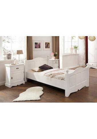 Home affaire Bett »Teo«, in drei verschiedenen, Breiten und zwei unterschiedlichen Farben kaufen