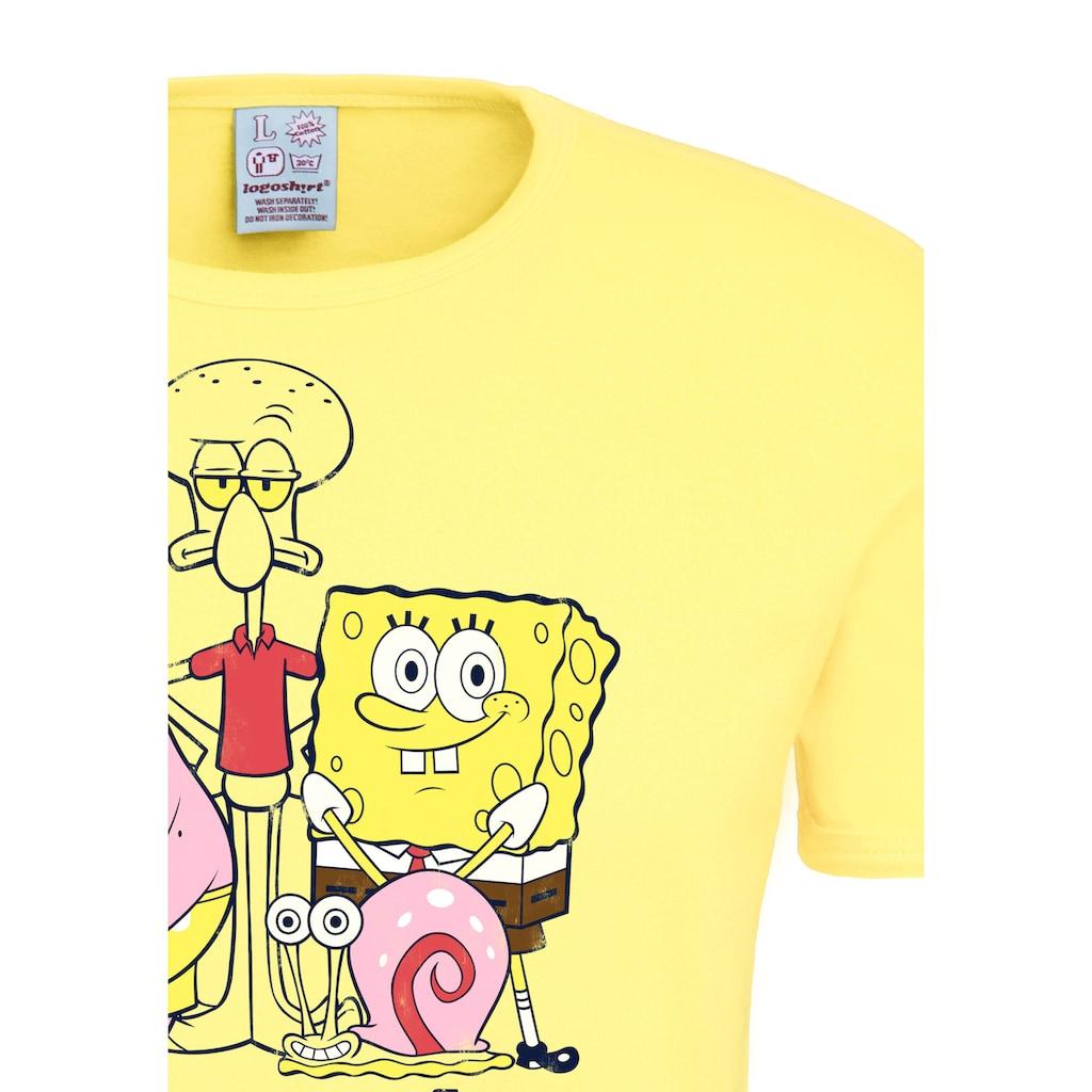 LOGOSHIRT T-Shirt mit witzigem Statement-Print