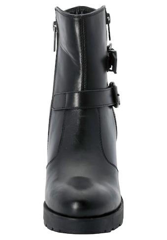 Sheego Stiefelette, aus echtem Leder kaufen