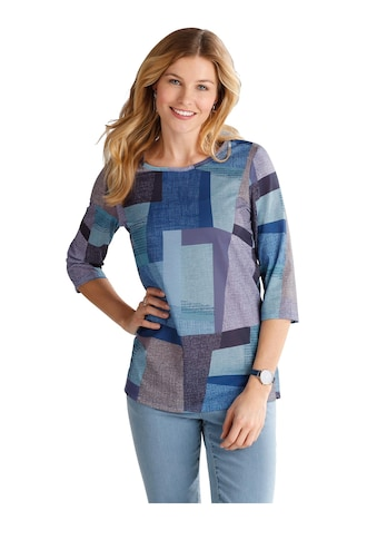 Classic Basics Longshirt mit Patchwork - Muster kaufen