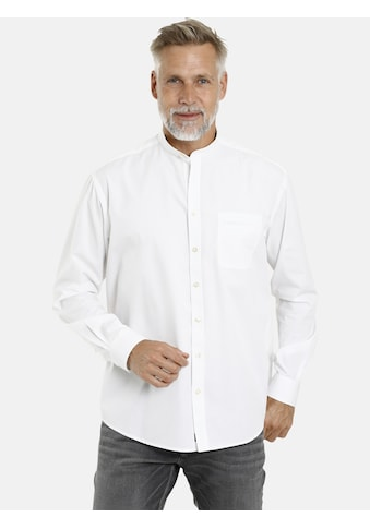 Jan Vanderstorm Langarmhemd »HEIMIR«, (2er-Pack), leichte Baumwollhemden kaufen