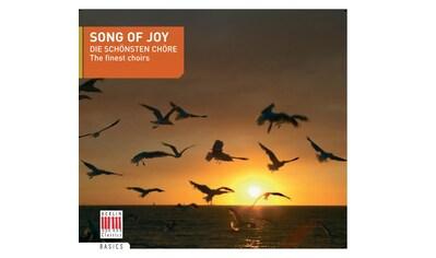 Musik - CD Song Of Joy - Die Schönsten Chöre / Dresdner Kreuzchor/Thomanerchor/+, (1 CD) kaufen