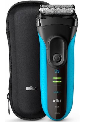 Braun Elektrorasierer »Series 3 ProSkin 3045s«, Langhaartrimmer, wiederaufladbar, Wet&Dry kaufen