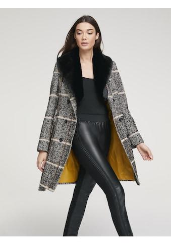 Mantel mit abnehmbarem Webpelz kaufen