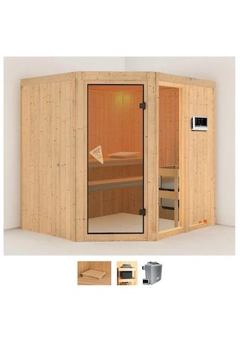 Karibu Sauna »Frigga 2«, 9-kW-Ofen mit externer Steuerung kaufen