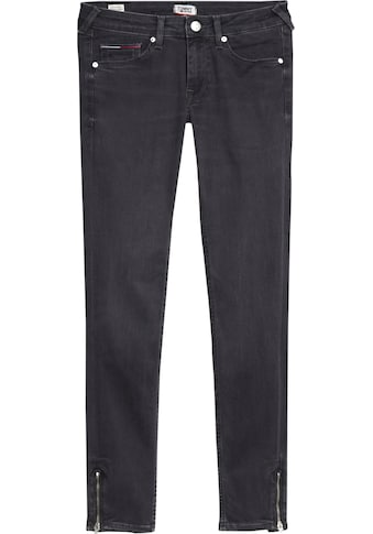 TOMMY JEANS Skinny - fit - Jeans »SOPHIE LR SKNY ANKLE ZIP BRBK« kaufen