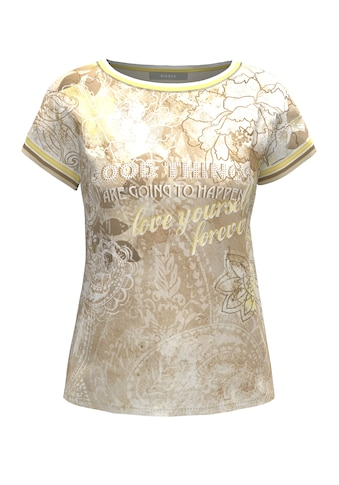 bianca Blusenshirt »JULIE«, mit modernem Blütenprint und Glitzereffekten kaufen