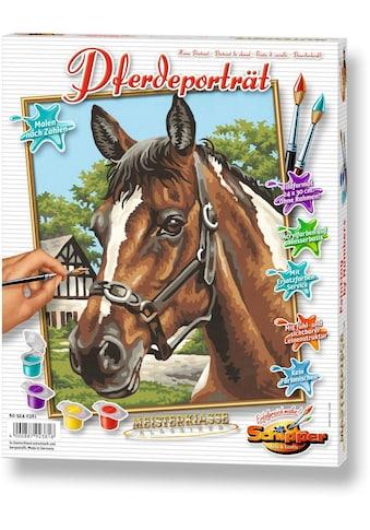 Schipper Malen nach Zahlen »Meisterklasse Klassiker - Pferdeportrait«, Made in Germany kaufen