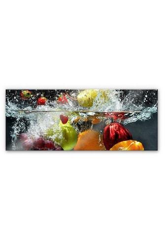 Wall-Art Küchenrückwand »Erfrischendes Obst - Panorama« kaufen