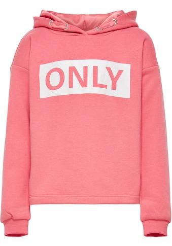 KIDS ONLY Kapuzensweatshirt »KONWENDY«, ohne Bündchen am Saum kaufen