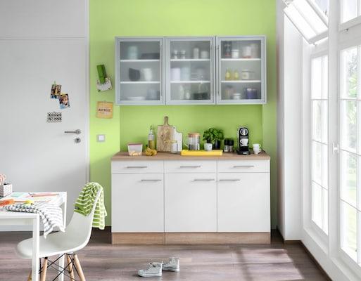Küchenschrank in Weiß
