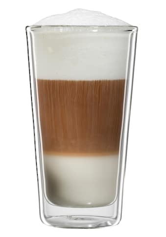 Bloomix Latte-Macchiato-Glas »Milano«, (Set, 4 tlg.), Doppelwandig, 4-teilig kaufen