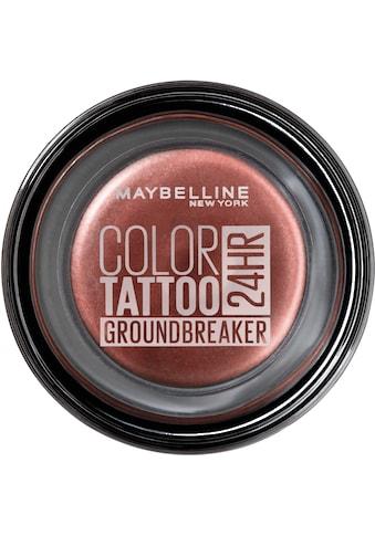 MAYBELLINE NEW YORK Lidschatten »Color Tattoo Creme-Gel« kaufen
