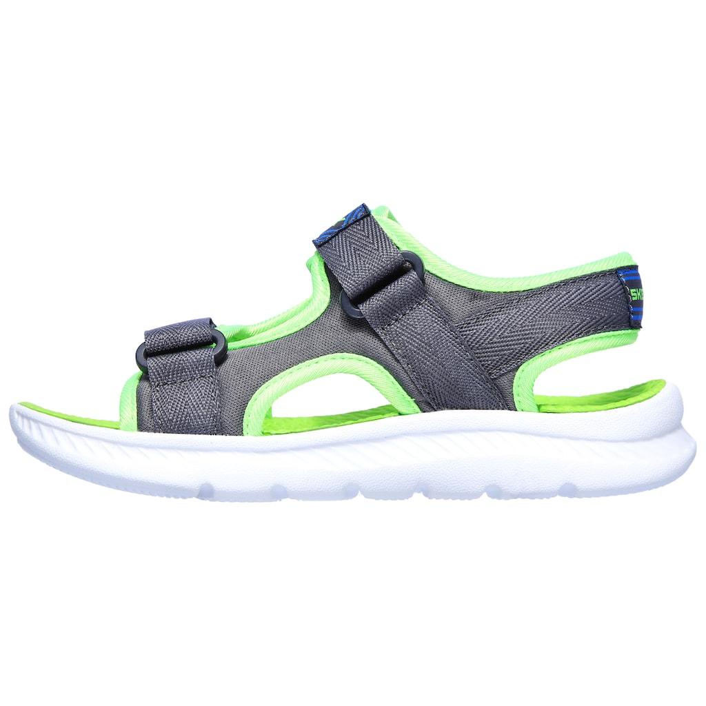 Skechers Kids Sandale »C-FLEX SANDAL 2.0-HYDROWAVES«, mit zwei Klettverschlüssen